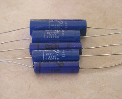 Sozo Blue Molded Vintage Capacitors - Select Value