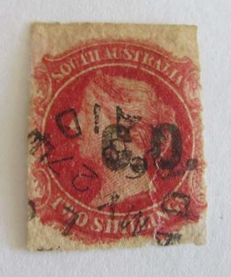 South Australian Departmental overprinted CO in black on 2s rose carmine