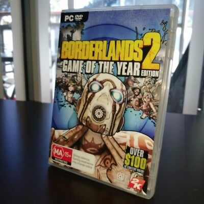 Borderlands 2 - Game of the Year Edition (PC Windows, 2012) Used