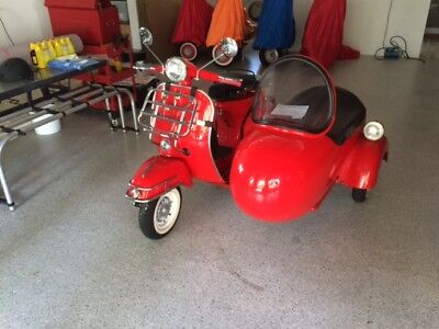 1977 Vespa  With Factory Side Cart