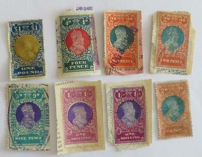 Australia 1909 - 29 NSW Stamp Duty most used on paper