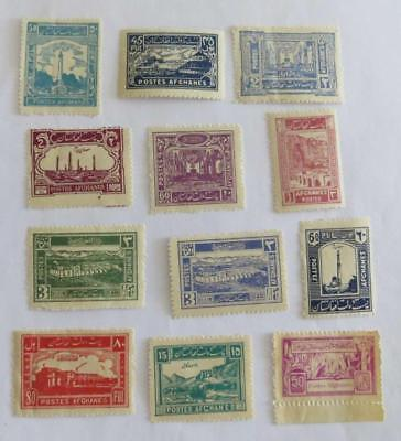 Afghanistan 1931 - 38 small collection unused