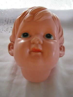 Celluloid doll Head Made in Japan