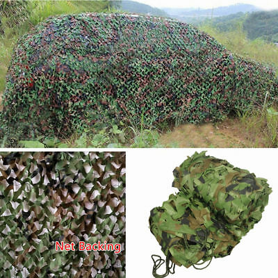 4mX6m Army Camouflage Net Camo Netting Camping Shooting Hunting Hide Woodland