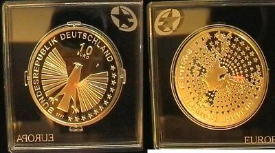 Germany Euro coin nice silver proof coin