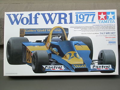 Wolf Wr1 [1977] -Tamiya Precision Detailed Model-1/20 Scale