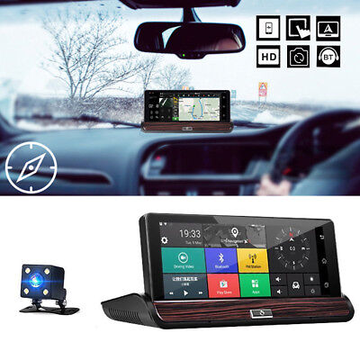 7'' 3G Wifi Car Dashboard DVR Android 5.0 Video Recorder GPS Navigation + Camera