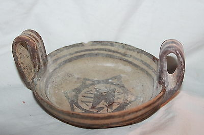 RARE ANCIENT GREEK POTTERY DAUNIAN KYLIX 5th CENTURY BC