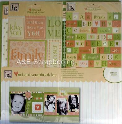 Heidi Grace Orchard Scrapbook Kit