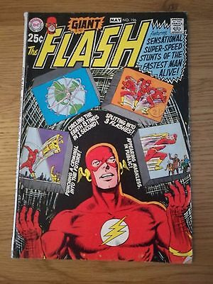 The Flash #196 - May 1970 - Bronze Age 68 Pg Giant!