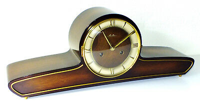 Chiming Mantel Clock Mauthe In Top Condition