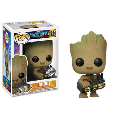 Guardians of the Galaxy: Vol. 2 - Groot with Bomb US Exclusive Pop! Vinyl Figure