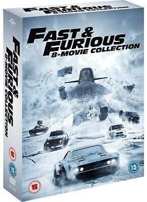 Fast & Furious: 8-movie Collection (Box Set with Digital Download) [DVD]