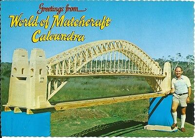 Modern Color Postcard , World of Matchcraft , Caloundra , Q. (C)