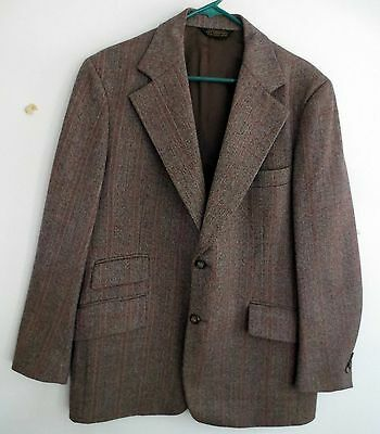 Vintage OLE HANSEN Copenhagen London New York Mens 3 Piece Suit.