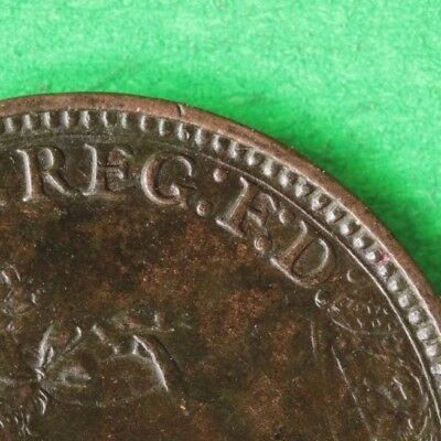 1882H Queen Victoria Farthing Very scarce perfect F in F.D SNo44713