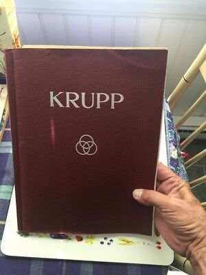 Krupp 1930'S Engineering Photo's And Brochures