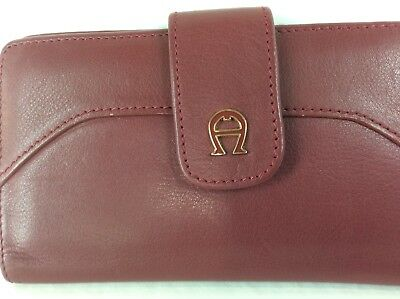 Vintage Etienne Aigner leather wallet unused