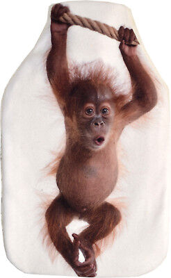 Vagabond Baby Orangutan Fleece Hot Water Bottle - Gift Box