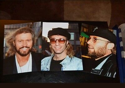 "Bee Gees 10"" x 7""  Photographs x 3 1993"
