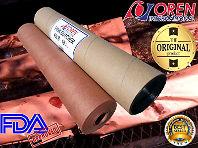 Original Meat Smoking Paper For Texas Style Bbq Butcher Paper Roll 18X150 Inch .