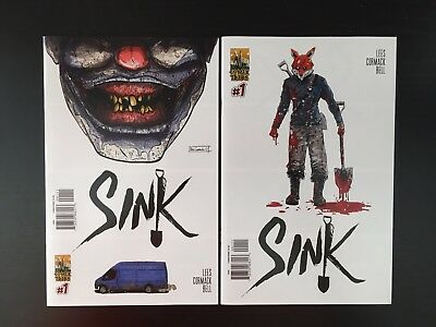 SINK #1 Comic Sold Out A&B Covers, NM Or Better! ComixTribe, Lees, Cormack