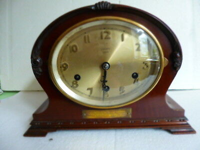 Vintage Westminster Mahogany Clock