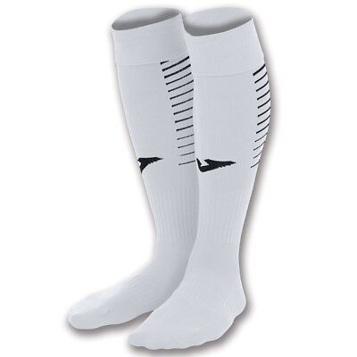 JOMA PREMIER FOOTBALL SOCKS - WHITE - various sizes