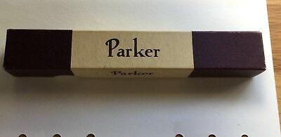 Vintage Parker Vacumatic Fountain Pen Burgundy Pearl Boxed