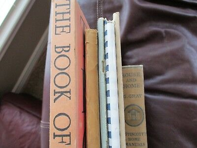 Lot of 6 Vintage Home Building Books - Houses Construction Etc     AU