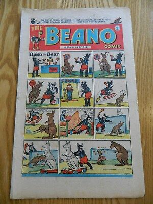 The Beano Comic #358 (1949) April Fool Issue ! - VG Condition