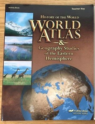 A Beka Book History of the World Answer Key for Activity Book 7th Grade