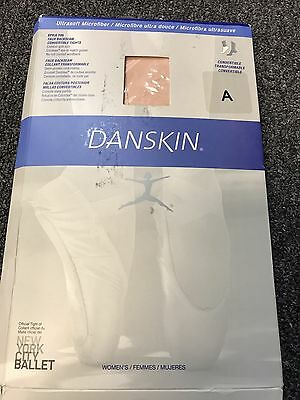 Danskin Womens Convertible Tights, Size A, Color Ballet Pink