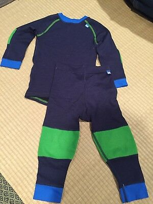 HH Helly Hansen Kids Ski Underwear Set 92/2