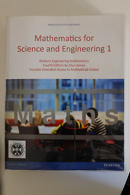 Mathematics for science and engineering 1 fourth edition Glyn James