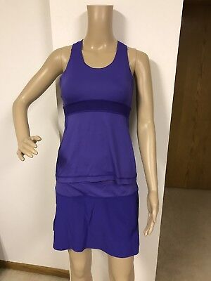 Lululemon Athletica Tank Top Size 6 Rare Hyper Purple Racerback Yoga Fitness