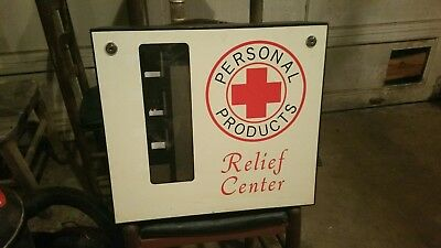 Vintage personal products vending machine