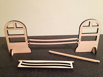 Stablemate scale wood jump -  Unpainted