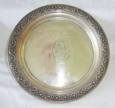 1890s New York Sterling Silver 9 inch Platter by Tiffany & Co. (Yir)