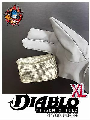 Tig Finger XL Diablo Heat Shield - Welding Gloves