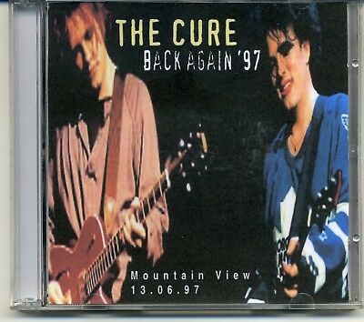 THE CURE Back Again '97 Live Mountain View 13-06-97 2CD's