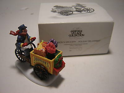 Dept 56 CIC Accessory - Johnson's Grocery Holiday Deliveries