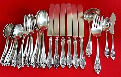 Antique 1847 Rogers Bros 1911 OLD COLONY Mixed Lot Silverplate Silverware
