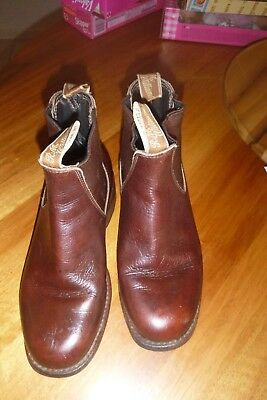 RM williams boots Leather boots Unisex Custom Made Approx Women 6.5  Men 7.5