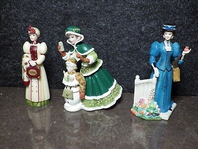 Avon President's Club Figures Small 2003/04, 06/07, 09/10 Excellent Condition