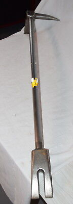 """USED Halligan Bar 36"""" Forcible entry fire firefighter Hooligan"""