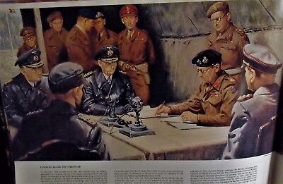Canadian Trumbell Warren's Tunic Adc To Montgomery At German Surrender 1945