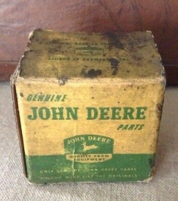 "Vintage John Deere Asst. Coppered Rivets Parts Box. 2"" X 1 1/2"""