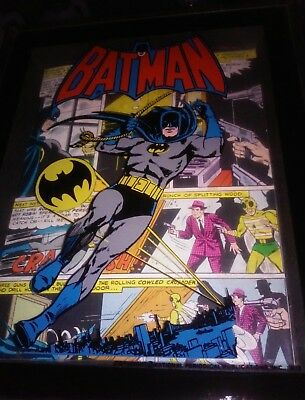 BATMAN *RARE* 3D PROMO ART From NATIONAL PERIODICAL PUBLICATION INC.  FROM 1973