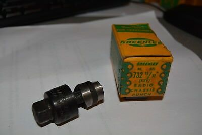 "15/32"" Greenlee Radio Chassis Punch Key #732"